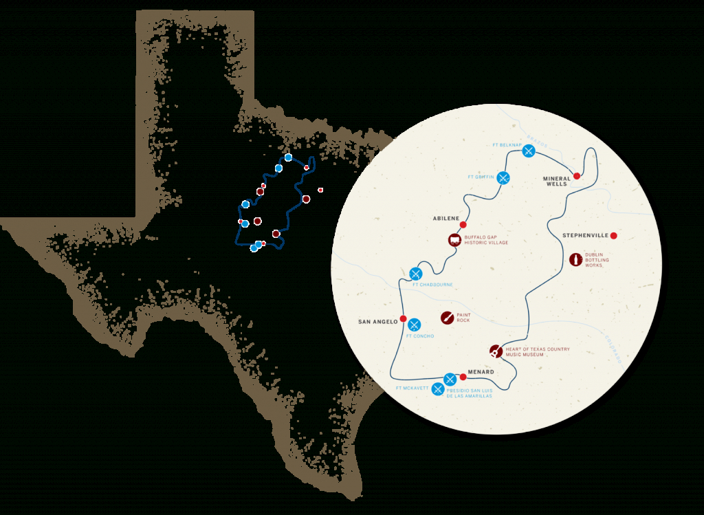 Your Guide To Texas' Historic Forts Trail - Texas Forts Trail Map