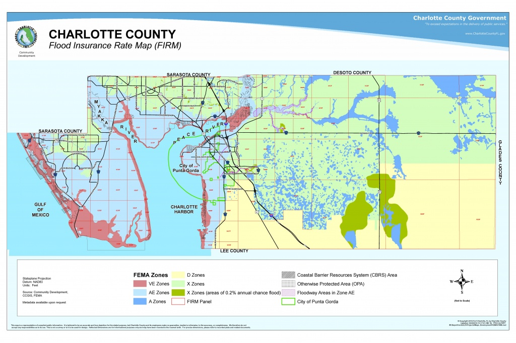 Your Risk Of Flooding - Fema Flood Maps Charlotte County Florida