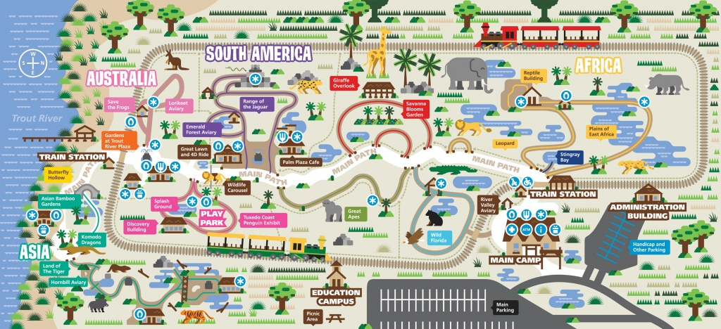 Zoos - Jacksonville ** - Zoos In Florida Map